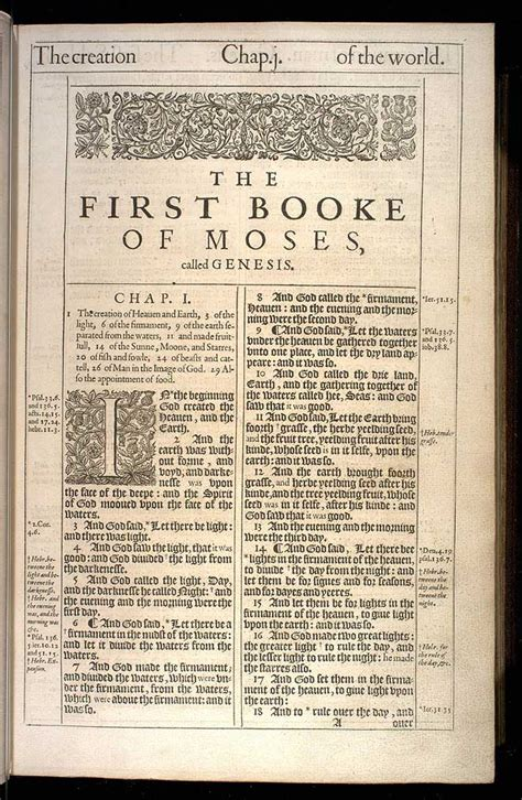 the king 1611 version of the holy bible books genesis chapter 1 original 1611 kjv