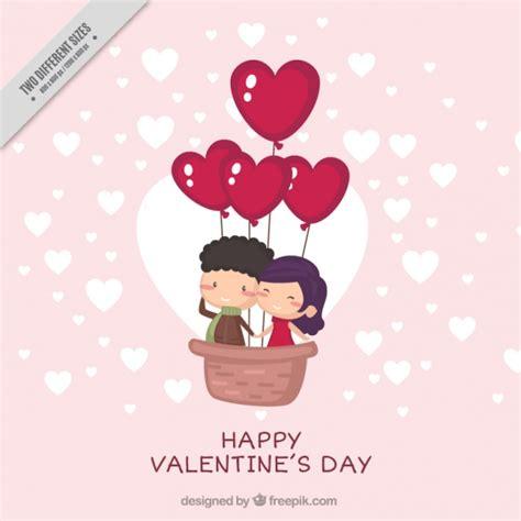 imagenes vectores san valentin fondo lindo de san valent 237 n con pareja joven feliz