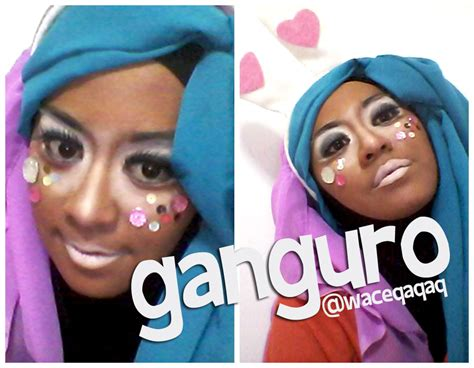 Bedak Finishing Ultima ini vindy yang ajaib japanese makeup ganguro