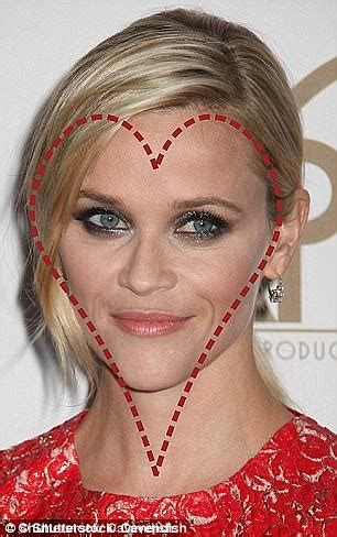 heart shaped faces most attractive a heart shaped face considered mathematically beautiful
