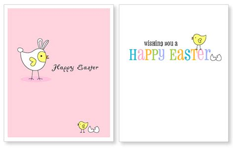 printable children s easter cards free printable easter card
