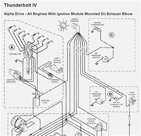 mercruiser thunderbolt 4 wiring diagram wiring diagram