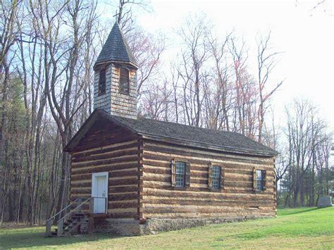 Amazing Log Cabin Ohio #4: St._Severin%27s_Old_Log_Church_Apr_10.JPG