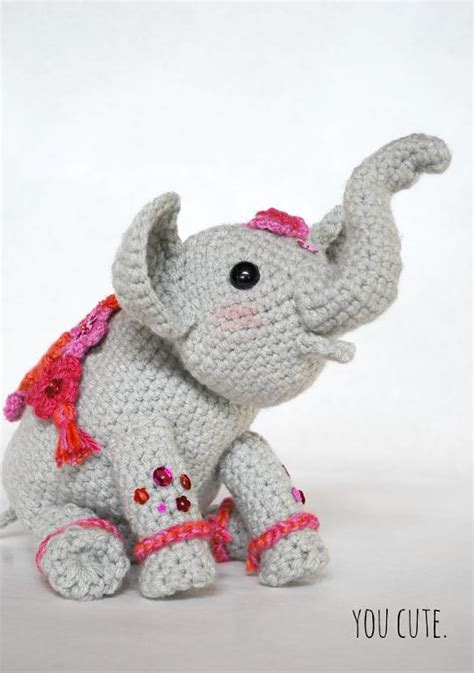 pattern crochet elephant crochet elephant 12 amigurumi patterns to stitch
