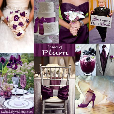 plum wedding colors 10 awesome wedding colors you t thought of