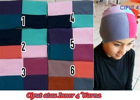 Ciput Daleman Jilbab Warna ciput arab 4 warna sentral grosir jilbab kerudung i supplier jilbab i retail grosir jilbab