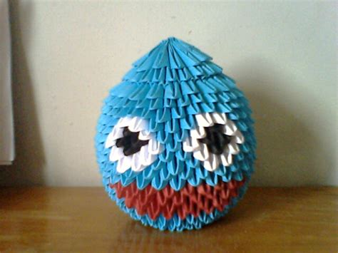Origami Slime - rocket slime origami by collarander on deviantart