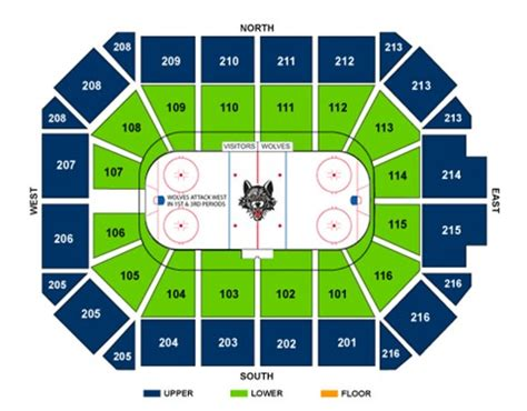 Allstate Arena Floor Plan by Seating Charts Seating Charts Photo Galleries