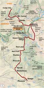 map of arizona grand grand connector adventure cycling route network