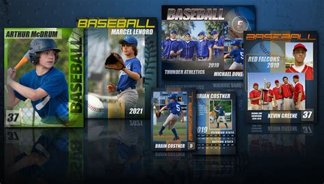 baseball card photoshop template free 14 baseball card psd template images photoshop templates