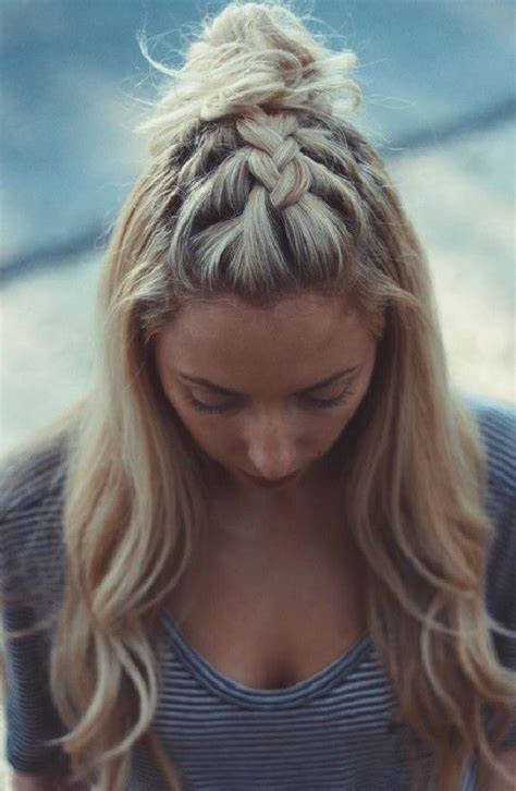 partial updo with braids 25 best ideas about partial updo on pinterest half up