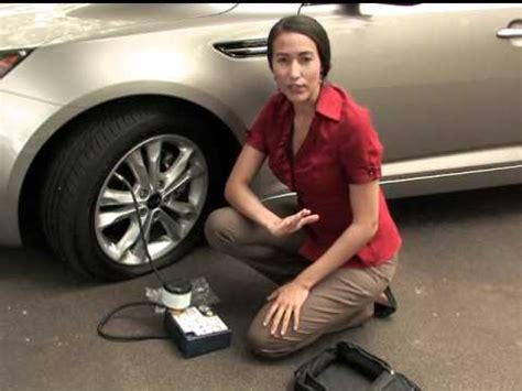 kia tire mobility kit youtube