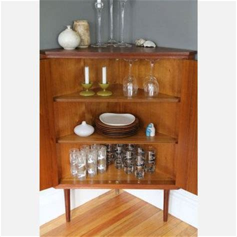 Antique Dining Room Corner Cabinets Mid Century Modern Corner Cabinet For My Home