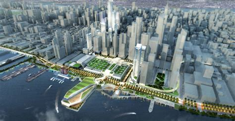 breaking designs for new port authority terminal
