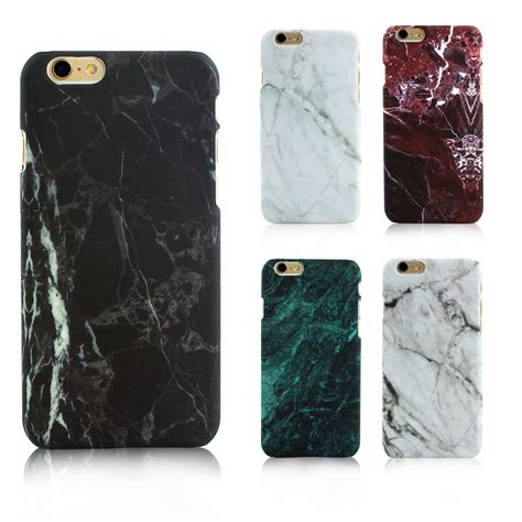 Iphone 6 6s Hardcase Casing Back Cover fashion marble phone for iphone 6 6s plus plastic cases for iphone 7 plus 5s se cover