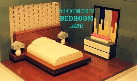 lego bed lego modern bedroom moc youtube