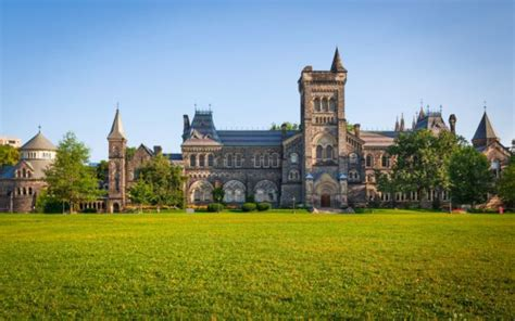 Uni Of Toronto Mba by Best Universities In Canada The Rankings