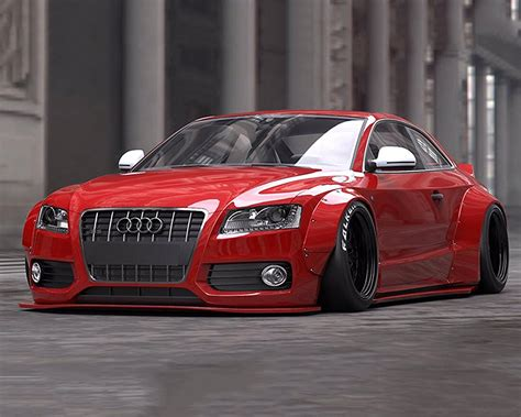 liberty walk stance works complete body kit audi a5 15 16