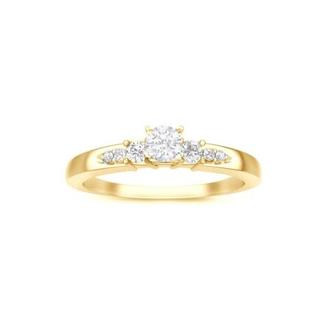 yellow gold engagement rings cheap yellow gold engagement