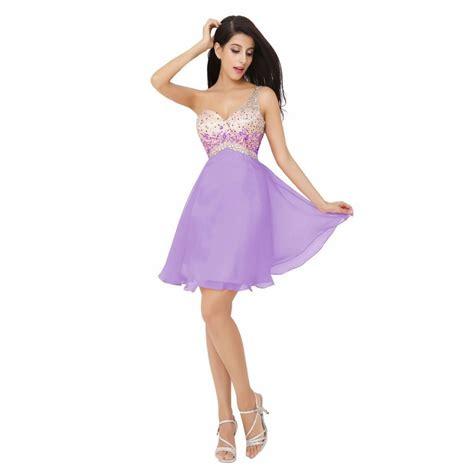 Dress Out Shouldersexy Dressshort Dressmini Dress aliexpress buy 2016 a line one shoulder mini dresses prom dress robe