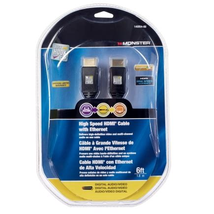 ace hardware hdmi cable monster just hook it up 12 ft l high speed hdmi cable