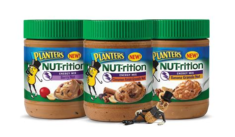 Planter Nutrition by Peanut Butter Is No Longer Plain It Just Got A Makeover