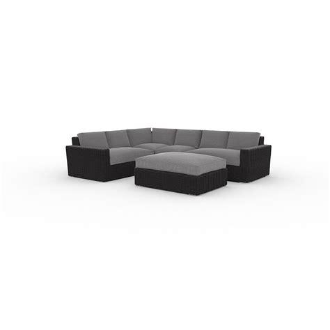 toja patio furniture turo  piece sectional set
