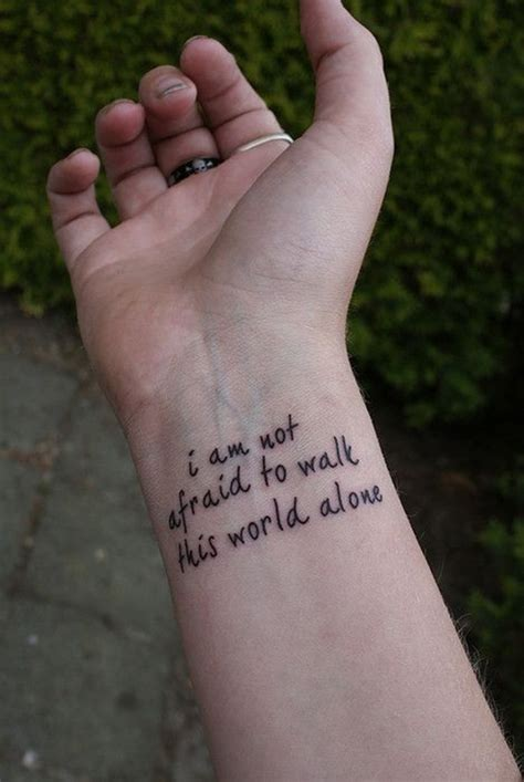 lyrics tattooed on my wrist 25 meaningful quote tattoo designs for girls