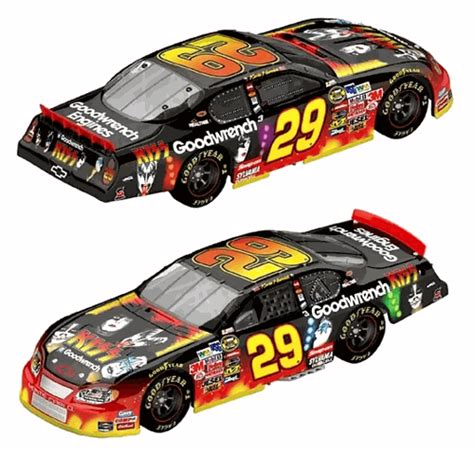 Special Diecast Nascar Chevy Rock N Roll Program Car 2004 Monte Carlo kevin harvick 2004 gm goodwrench chevy rock roll quot quot nascar gifts and more at guaranteed