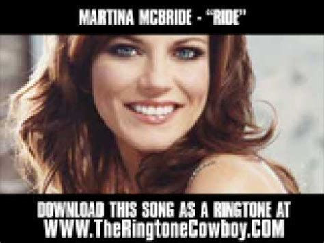 song lyrics martina mcbride martina mcbride ride lyrics