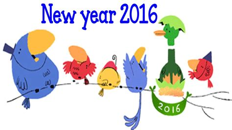 google images new year new year 2016 google doodle youtube
