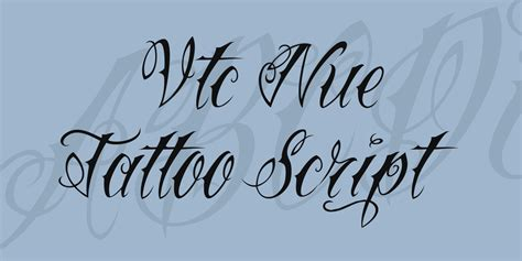 tattoo vtc font vtc nue tattoo script font 183 1001 fonts