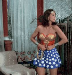 wonder woman skirt gif find & share on giphy