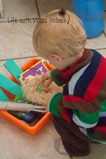 how to make a letter n sensory bin life with moore babies