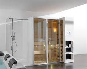 home saunas luxury and futuristic home sauna gala from porcelanosa