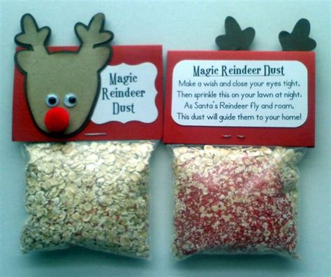 reindeer food craft project reindeer dust crafts