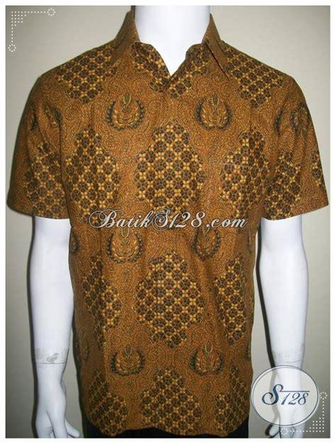 Kemeja Batik Kerja Formal kemeja batik corak klasik untuk acara resmi dan formal