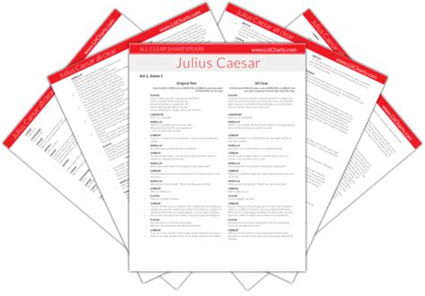 macbeth themes litcharts julius caesar study guide from litcharts the creators of