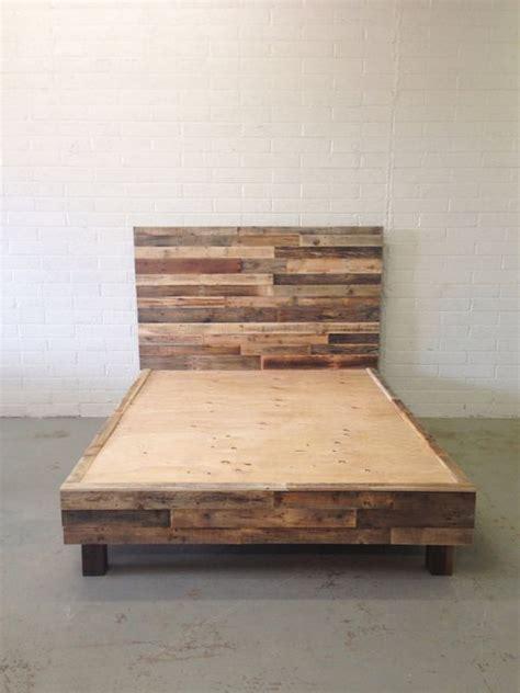 King Bed Foundation Wood Reclaimed Wood Platform Bed Base Pallet King Cali King California