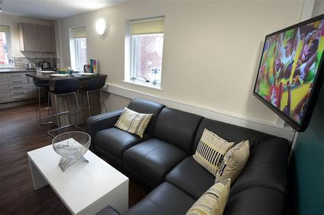 The Living Room Manchester S Day Look Inside 163 3 5m Manchester Student Accommodation