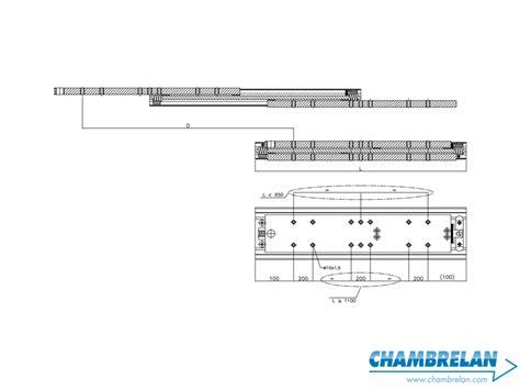 lade lineari e1020 fabbricazione e vendita di guide telescopiche e