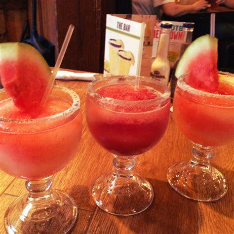 watermelon margarita on the border 44 best images about beverages on