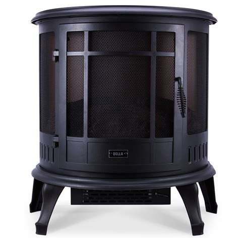1400w free standing vintage electric fireplace firebox