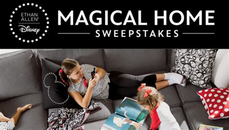 Ethan Allen Sweepstakes Entry - ethan allen disney magical home 30k sweepstakes