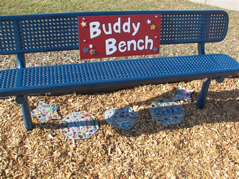 the buddy bench aurora elementary school christian s buddy