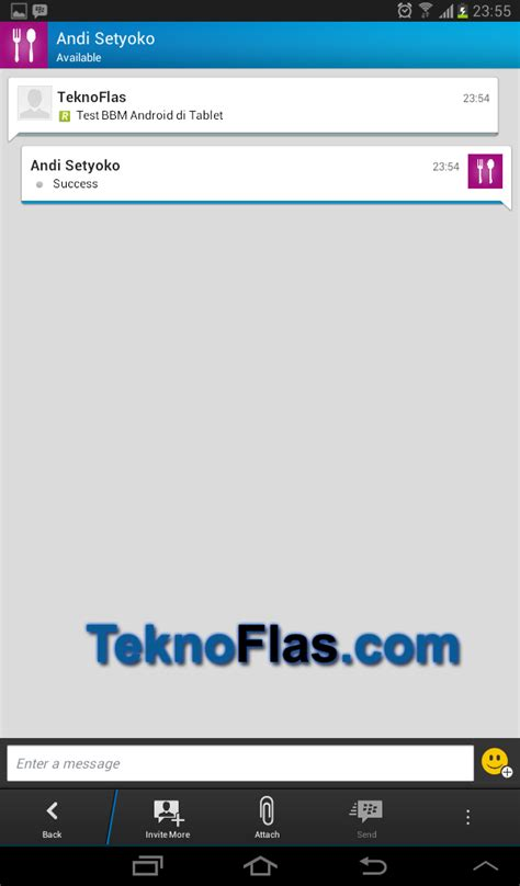 Tablet Advan Yg Bisa Bbm cara install bbm android di tablet samsung galaxy tab series teknoflas
