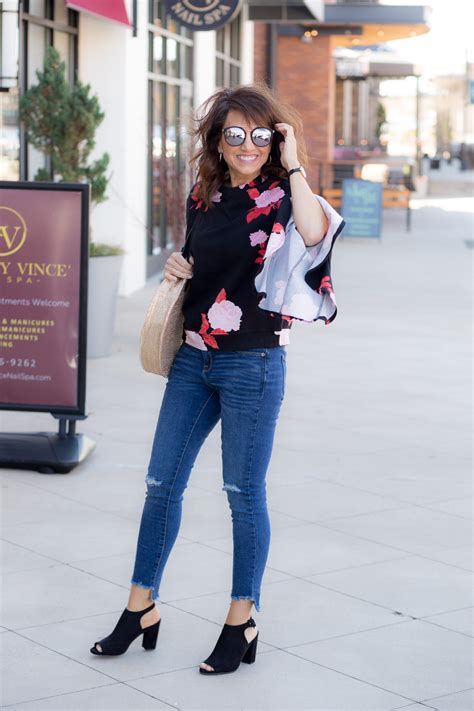 genevieve trading spaces floral sweatshirt from target grace beauty