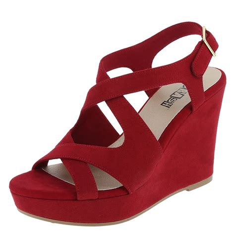 brash sabrina s high wedge sandal payless