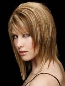 mid length choppy haircut pictures choppy medium length hairstyles