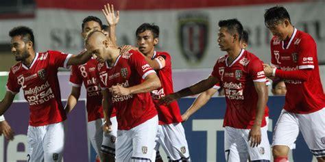 Baju Bola Bali United tahan arema cronus indra sjafri puji permainan bali united bola net